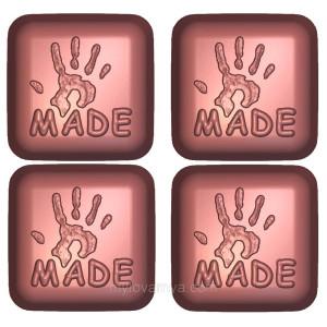 Пластиковая форма «Hand made» 1 форма