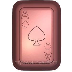 Пластиковая форма «Four Aces» Четыре Туза