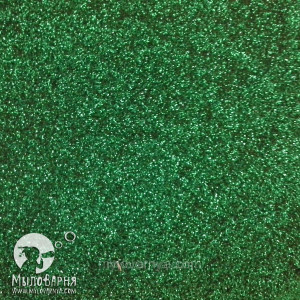 Глиттер Зеленый для мыловарения, декора / 10 гр.