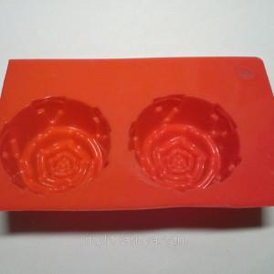Форма силиконовая для мыловарения 2шт