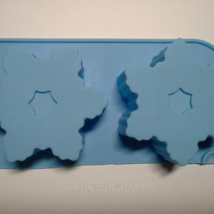 Форма силиконовая для мыловарения 1 шт