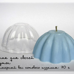 Пластиковая форма для свечей