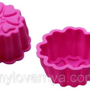 Форма силиконовая для мыловарения 9*4,1см