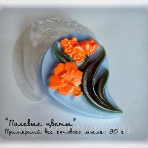 Пластиковая форма Полевой цветок