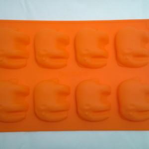 Форма силиконовая для мыла Слоники 6х5х2 см.