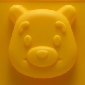 Форма силиконовая для мыловарения|6,5х6,5х2 см.