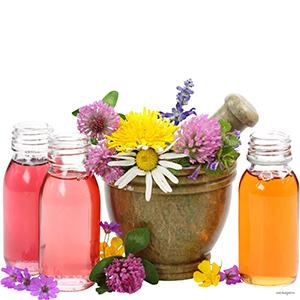 Растительные экстракты, цветочная ароматическая вода (гидролаты)