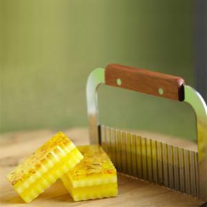 Нож для мыла рифленый